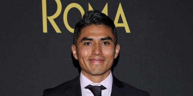 Jorge Antonio Guerrero s'est réjoui de pouvoir assister à la cérémonie, après des semaines d'incertitude (Mexico, Mexique)