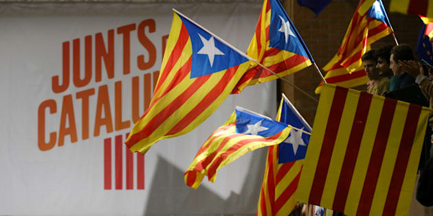 La Catalogne, plus que jamais coupée en deux .