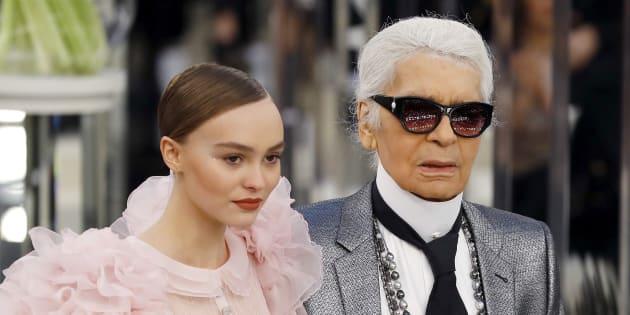 Pour la Fashion Week de Paris, Lily-Rose Depp en mariée éblouissante ... 83f09d63370b