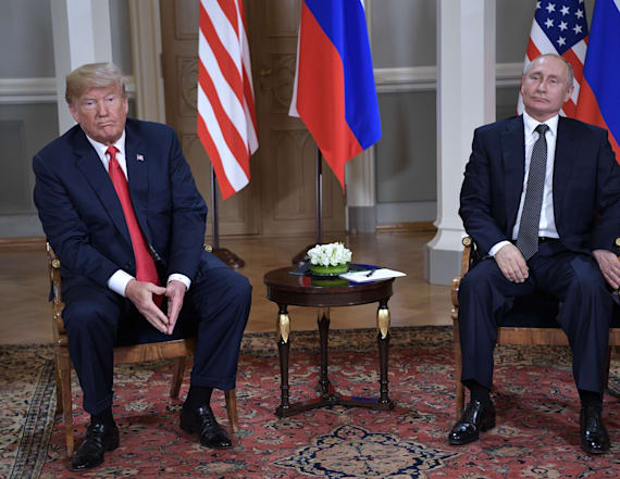 Trump lashes out at media again over Putin coverage
