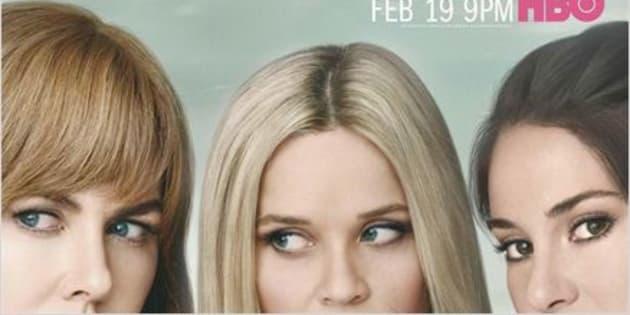 """L'affiche de la série HBO """"Big Little lies"""""""