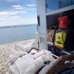 80enne chiede di vedere il mare per l'ultima volta: l'ambulanza si ferma sulla
