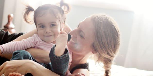 Ce que j'aimerais que mon nouveau corps de maman apprenne à ma fille.