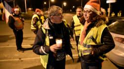 Les images du Noël de gilets jaunes nordistes, fêté sur