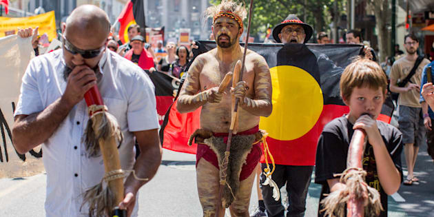 """""""Aboriginal and Torres Strait Islander people and others have been organising major, organised protests on January 26 since at least 1938."""""""