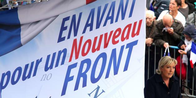Marine Le Pen, grande absente de la bataille anti-ordonnances.