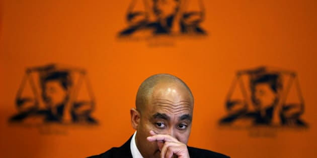 NPA boss Shaun Abrahams. Photo: REUTERS / Siphiwe Sibeko