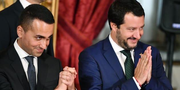 Il Governo dei vicepremier: nei sondaggi Salvini è il più gr