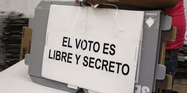 En el país se han registrado robos y quema de material para las elecciones de este 1 de julio.