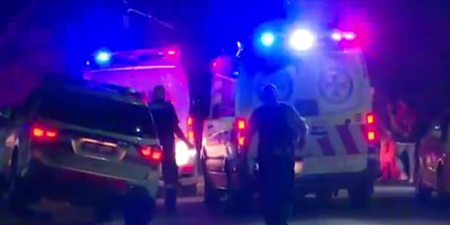 A teen is critical after a fight in Sydney.