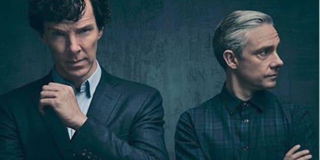 """Il faudra attendre janvier 2017 pour pouvoir voir la saison 4 de """"Sherlock""""."""