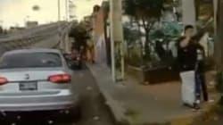 Los Diablitos, la banda de niños que asalta a automovilistas en