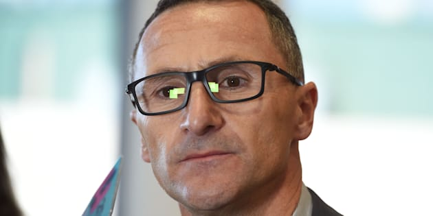 Richard Di Natale wants the federal government to establish a national anti-corruption watchdog.