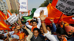 ABVP, Right-Wing Groups Hold 'Tiranga March' Against 'Anti-National Activities' In