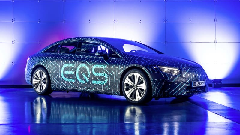 Watch the Mercedes-Benz EQS debut here live at noon ET today