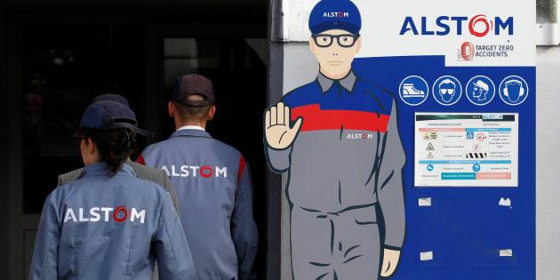 La question qui fâche du HuffPost à propos d'Alstom sur Franceinfo