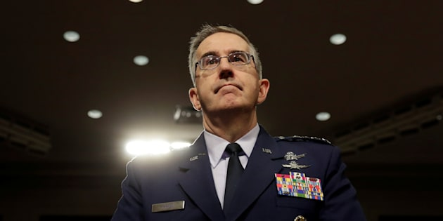 Air Force General John Hyten, commander of the U.S. Strategic Command, said he would resist an 'illegal' nuclear strike order.