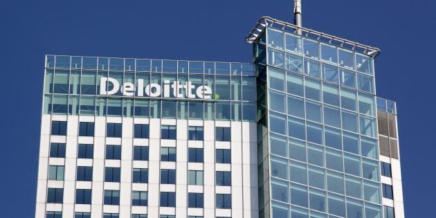 Deloitte office in Rotterdam, Netherlands.