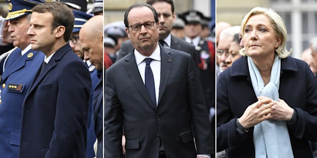 Le message très politique de Hollande à Macron et Le Pen lors de l'hommage national à Xavier Jugelé