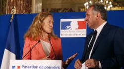 Revivez la passation de pouvoir entre François Bayrou et Nicole