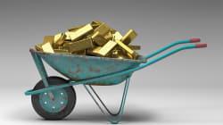 In Svizzera ogni anno vengono scaricati 43 chili d'oro nelle