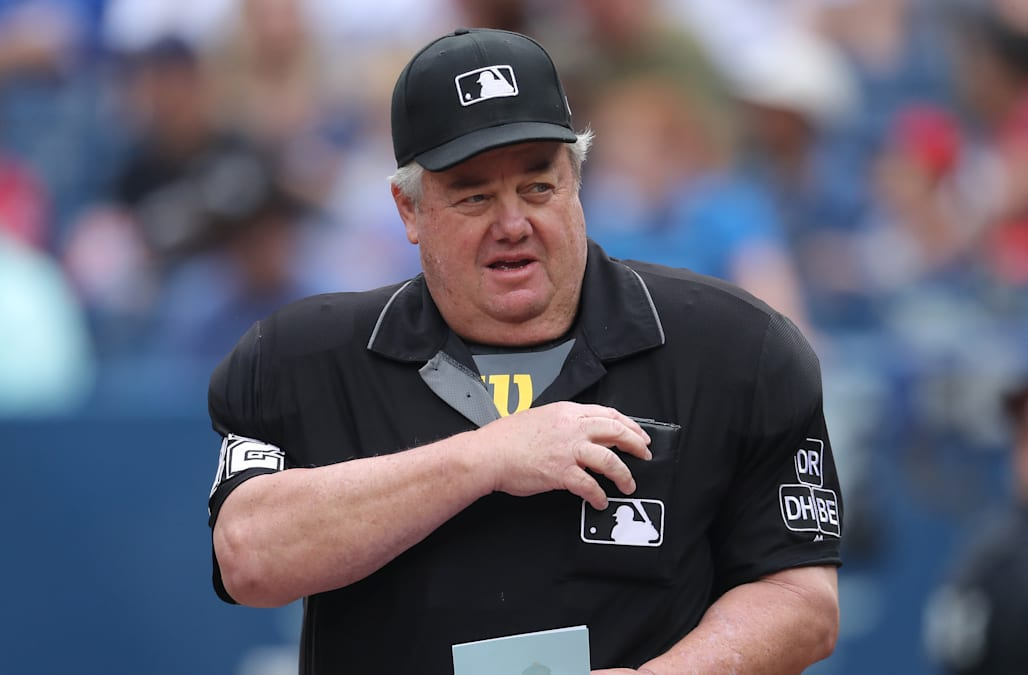 The umpire many Major League Baseball fans love to hate reached a historic  milestone Wednesday. By taking the field in Minnesota 7cd7304939a