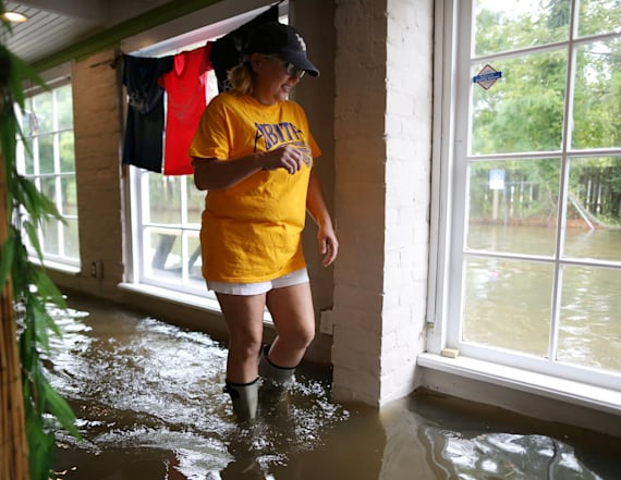 Gulf Coast keeps guard up as Barry continues pouring
