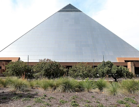 One of the largest pyramids is a megastore in Tenn.