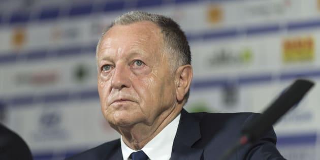Jean-Michel Aulas à Lyon le 16 juin 2017.