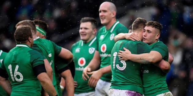 Pour la Fête de la Saint-Patrick, l'Irlande bat l'Angleterre et s'offre le Grand chelem