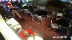 La brutal respuesta de una camarera a un hombre que le tocó el culo mientras