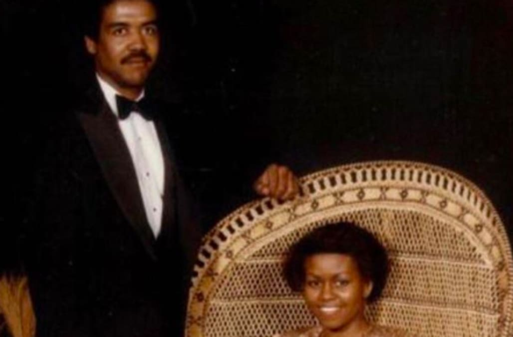 Michelle Obama shares prom throwback photo from 1982