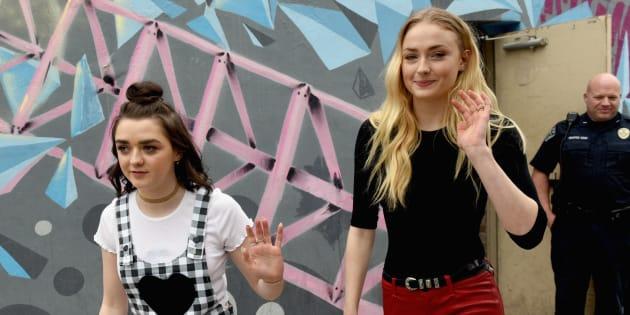 Games of Thrones: les sœurs Stark racontent comment elles se détendent après une journée de tournage