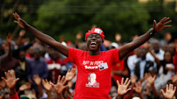 Clinging To Treetops, Zimbabweans Bid Farewell To