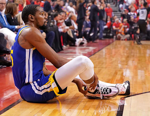 Kevin Durant gives update on Achilles rehab