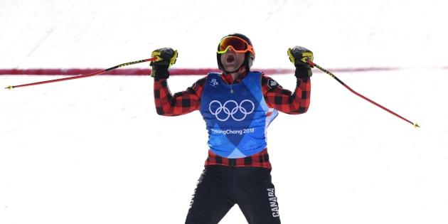 Brady Leman remporte l'or en ski cross