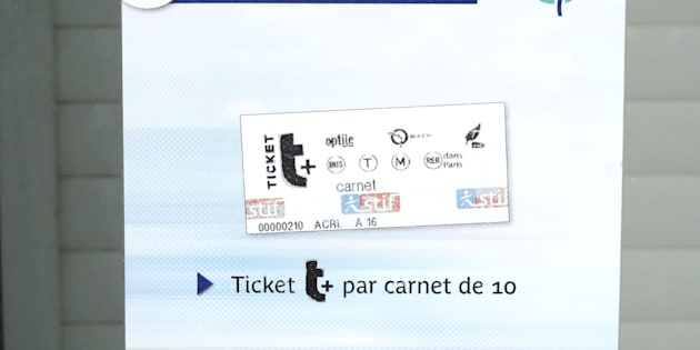 Vous ne verrez bientôt plus par terre le célèbre ticket de métro parisien.