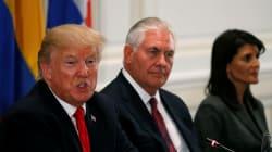 Trump dice que Venezuela colapsa y pide más acción a líderes
