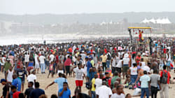 Durban Beaches Packed To Capacity, 332 Children Separated From