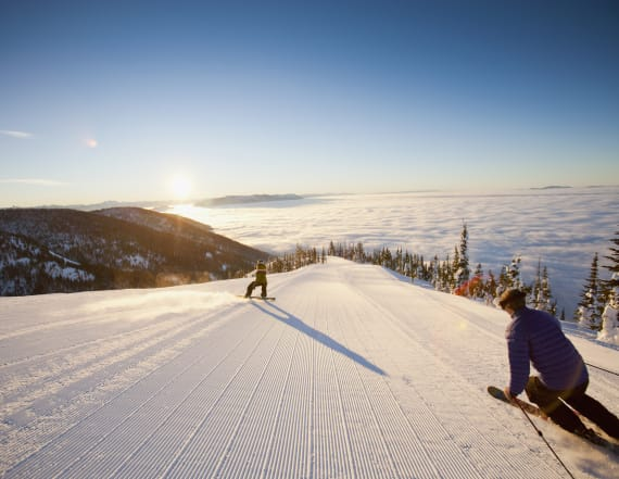 The most popular places in the world to go skiing