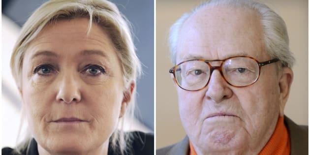 """Le memorie di Le Pen padre: """"Marine mi fa pietà"""""""