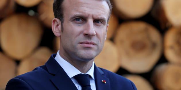 """Compte de campagne de Macron: la commission juge les ristournes """"acceptables"""" et pas """"illicites"""" (Photo: Emmanuel Macron à Saulxures-sur-Moselotte, le 18 avril 2018)"""