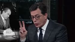 Stephen Colbert Bashes Trump And Nixon At Same Time In One Glorious