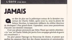 Dans Charlie Hebdo, Riss accuse Plenel d'