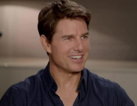 Tom Cruise talks new film 'American Made'
