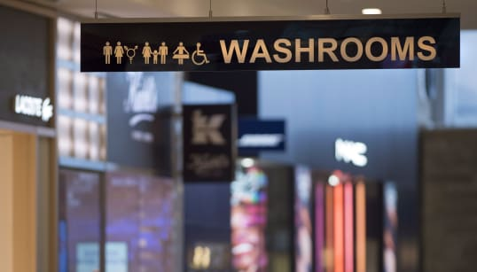 Some Of Canada's Busiest Malls Are Adding Gender-Inclusive