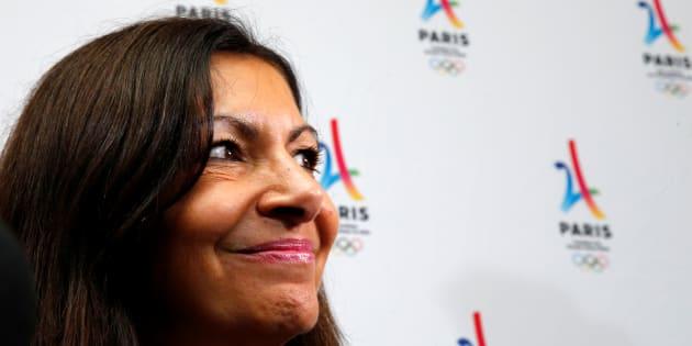 La maire de Paris Anne Hidalgo à Lima au Pérou le 13 septembre 2017.