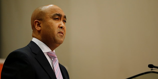 National Director of Public Prosecutions Shaun Abrahams.