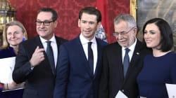 En Autriche, le gouvernement formé par la droite et l'extrême droite a prêté