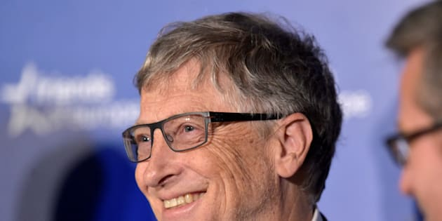 Microsoft founder Bill Gates smiles as he takes part in a healthcare event in Brussels, Belgium, February 16, 2017. REUTERS/Eric Vidal